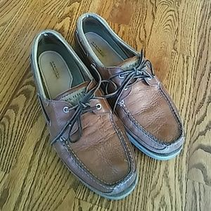 Men's Leather Sperry Topsiders